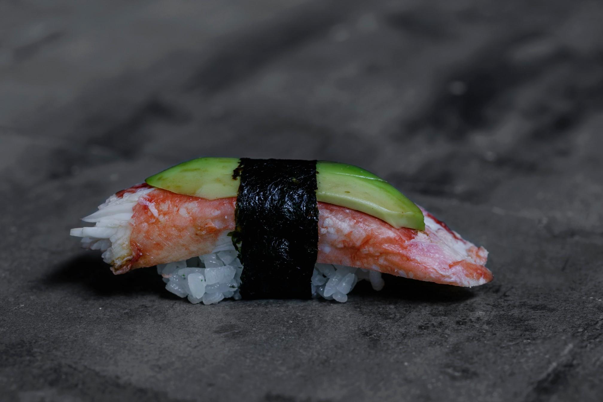 Kosushi Restaurant Miami South Pointe Crab Nigiri Sushi