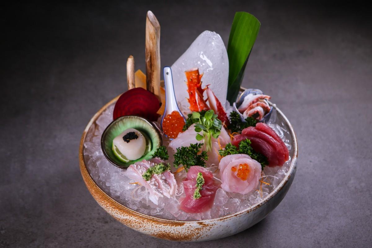 Kosushi Restaurant Miami Beach Beatiful Sashimi Mix