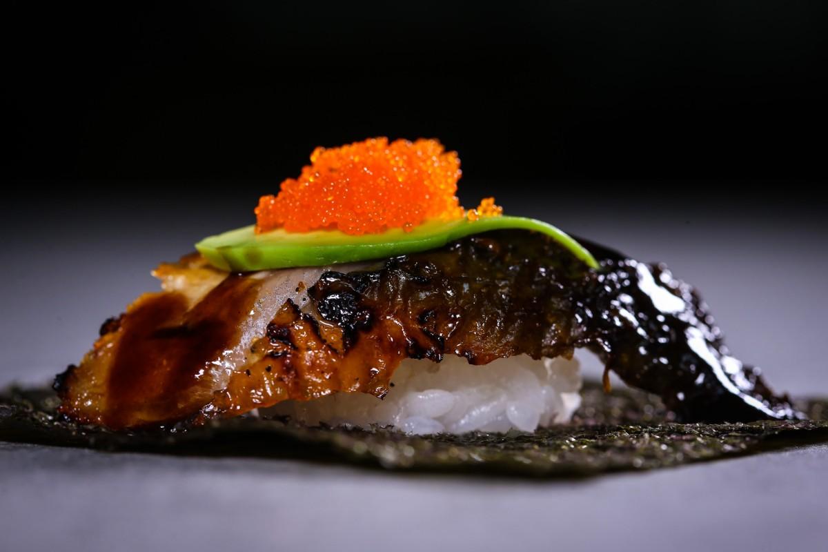 Kosushi Miami Beach Unagi Eel Nigiri Sushi